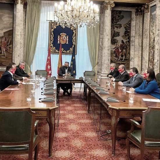 Reunion Ayuntamiento Madrid